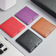 QI wireless charger for Samsung S11 S10 S9 S8 plus typeC leather wireless charger for iPhone 11 pro max XR xs max X 8 7 6s plus