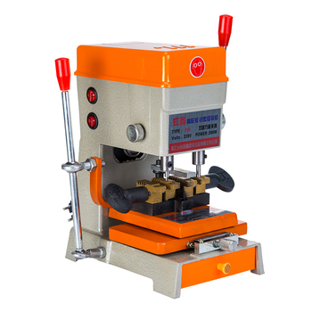 Vertical Double Shot Three Floors Multifunction Key Machine With Outer Milling Groove Plum Blossom Copy Tools