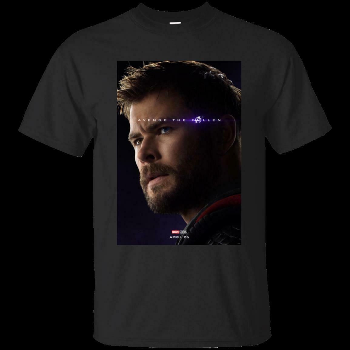 Avengers Endgame Avenge Fallen Marvel Comics Official Tee T-Shirt Mens