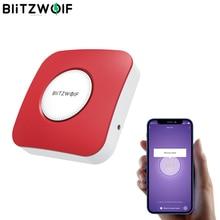 BlitzWolf BW IS11 akıllı ev Wifi güvenlik Alarm sireni App uzaktan kablosuz 90dB akıllı kaçak hareket yangınları önleme dedektörü