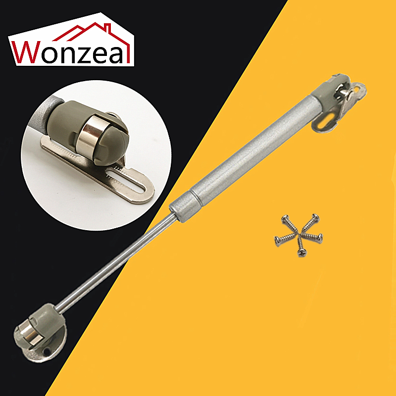 20N-300N Furniture Hinge Kitchen Cabinet Door Lift Pneumatic Support Hydraulic Gas Spring Stay Hold Pneumatic Hardware