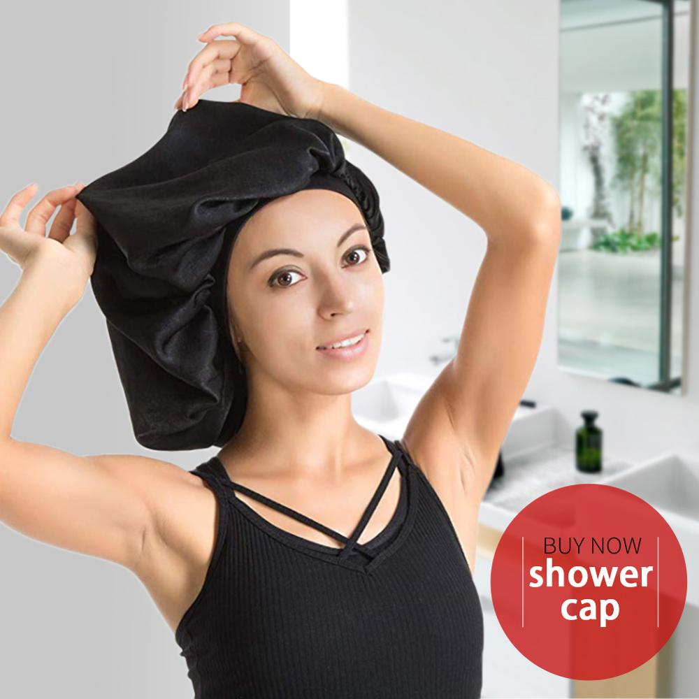 High Quality Super Giant Sleep Cap Waterproof Bath Cap Women Hair Care Protection Hair From Manic