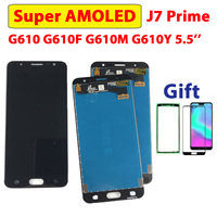 5.5 test test tela de teste para samsung galaxy j7 prime display g610 assembléia tela toque on7 prime g610m g610f g610 super amoled j7prime LCDs de celular    -