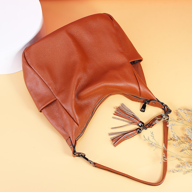Spring And Summer 2020 New Genuine Leather European And American Fashion Girls Bag Hand Bag