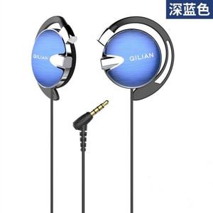 Image 5 - Q13 Stereo Ear Hook Sport Earphones for Smart Phone with Microphone Headset HiFi Running Headphone Volume Control Earpiece