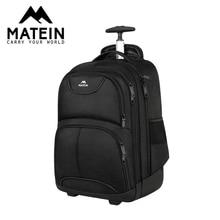 Матеин колесная ноутбука рюкзак для путешествий рюкзак 15.6 17 мужские деловые камера нести рюкзак мужчин
