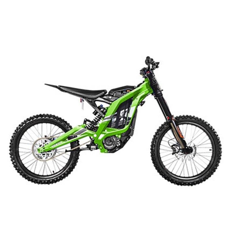 Bicicleta de Montaña de montaña eléctrica bicicleta de montaña todo aluminio cuerpo 45 grados alto par 60 V/ 32Ah/5400w - 3