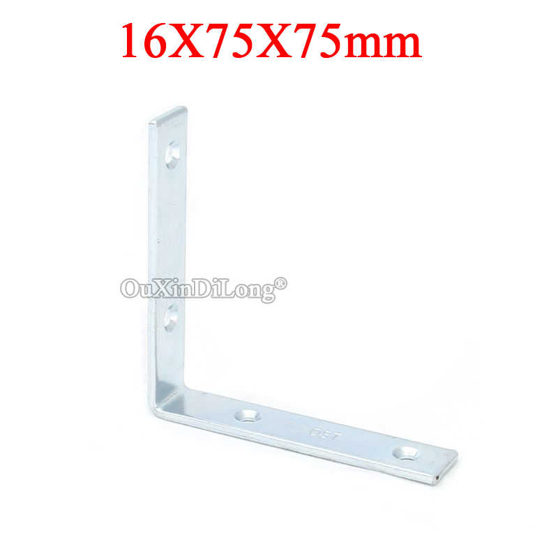 Brand New 40PCS Furniture Corner Braces L Shape Right Angle Frame Board Support Holder Brackets Furniture Connecting Fittings