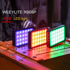 Image 1 - VILTROX Weeylife RB08P RGB LED Camera Light Full Color Output Video Light Kit Dimmable 2500K 8500K Bi Color Panel Light CRI 95+