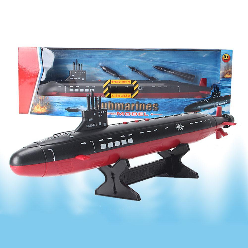 Le plastique sous-marin de classe de typhon de marine assemblent des Kits de modèle de construction statique de modèle de navire de guerre militaire