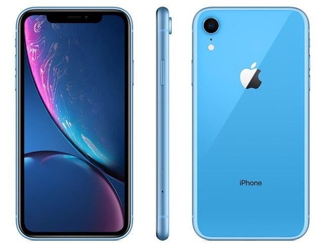 iPhone XR 64GB Preto Desbloqueado iOS 12 4G 12MP - Apple 5