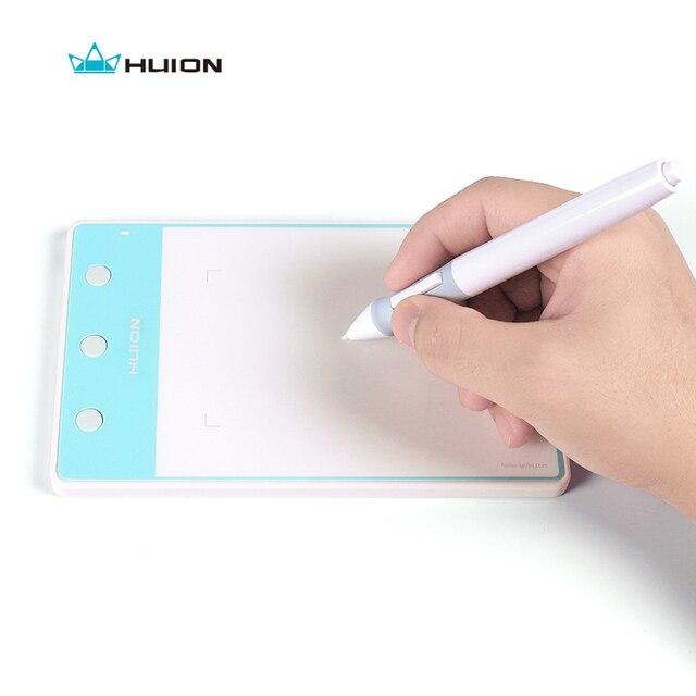 Huion H420 펜 태블릿 그래픽 테이블 서명 패드 4*2 인치 3 익스프레스 키