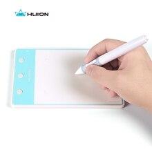 Huion H420 pióro Tablet graficzny stół podpis Pad 4*2 cale z 3 kluczami ekspresowymi