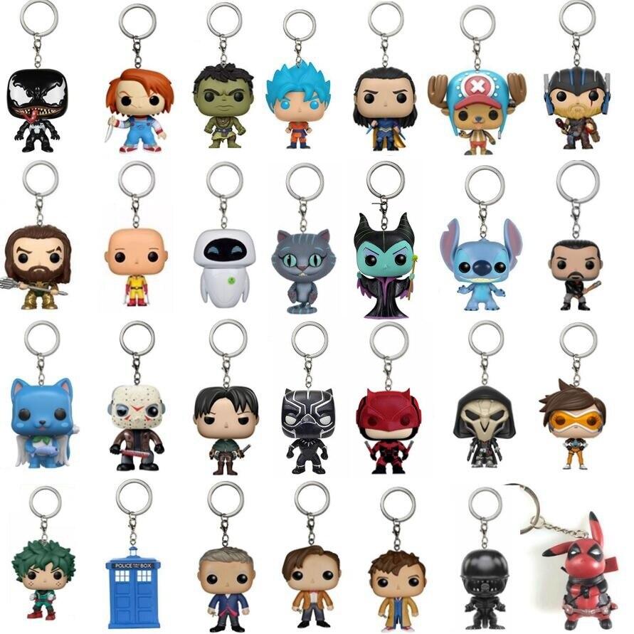 2021 брелок игрушка Супер Герои экшн-фигурки героев из фильма «Отряд Самоубийц»