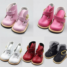 1 Pairs 43cm Height Girls Doll Shoes 5 Different Colors for18 American Born Baby Boots Accessories