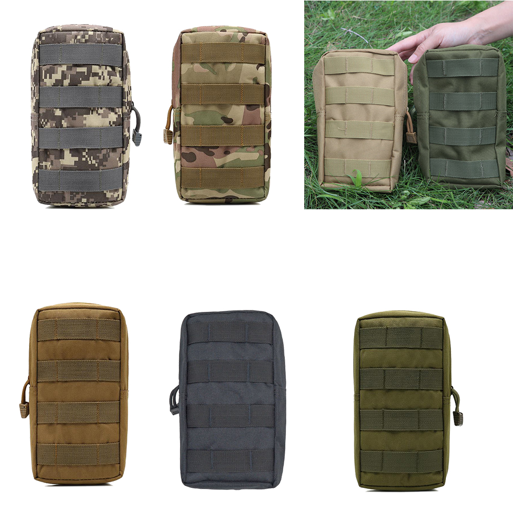 Military Molle System Pouch Bag Sports Combat Tactical Utility Bags Gadget Hunting Magazine Waist Pack Outdoor Equipment
