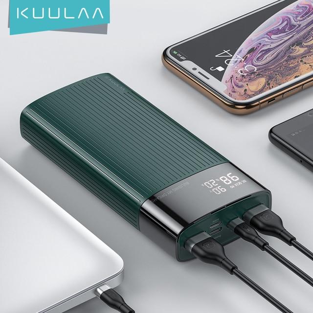 Внешний аккумулятор KUULAA PowerBank 20000 мАч QC PD 3,0  1