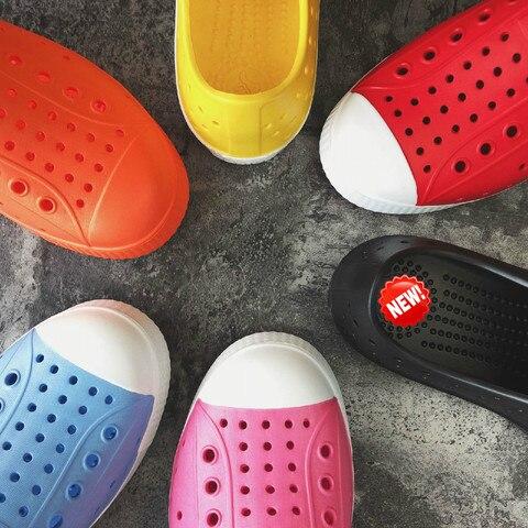 2019 nova criancas croc sapatos scarpe nativ