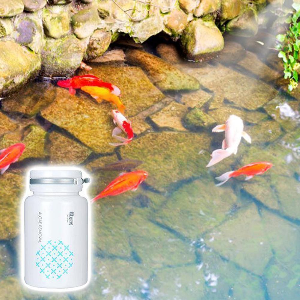 50g Aquarium Algaecide Multifunction Algae Purifier Purification Daily Household Natural Purifying Necessities Water Functi O5O5