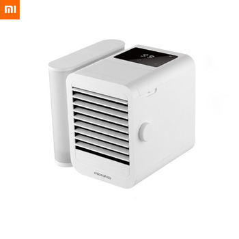 Xiaomi Microhoo Mini Air Conditioner 6W 1000ml Water Capacity Type-C Touch-Screen Dormitory Office Desktop Fan