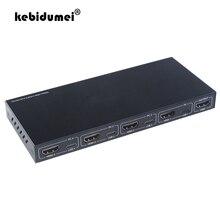 Квм-Консоль kebidumei 4K HDMI Тип C, видеовыключатель, USB-переключатель, KVM-переключатель, разветвитель для совместного использования клавиатуры, мы...