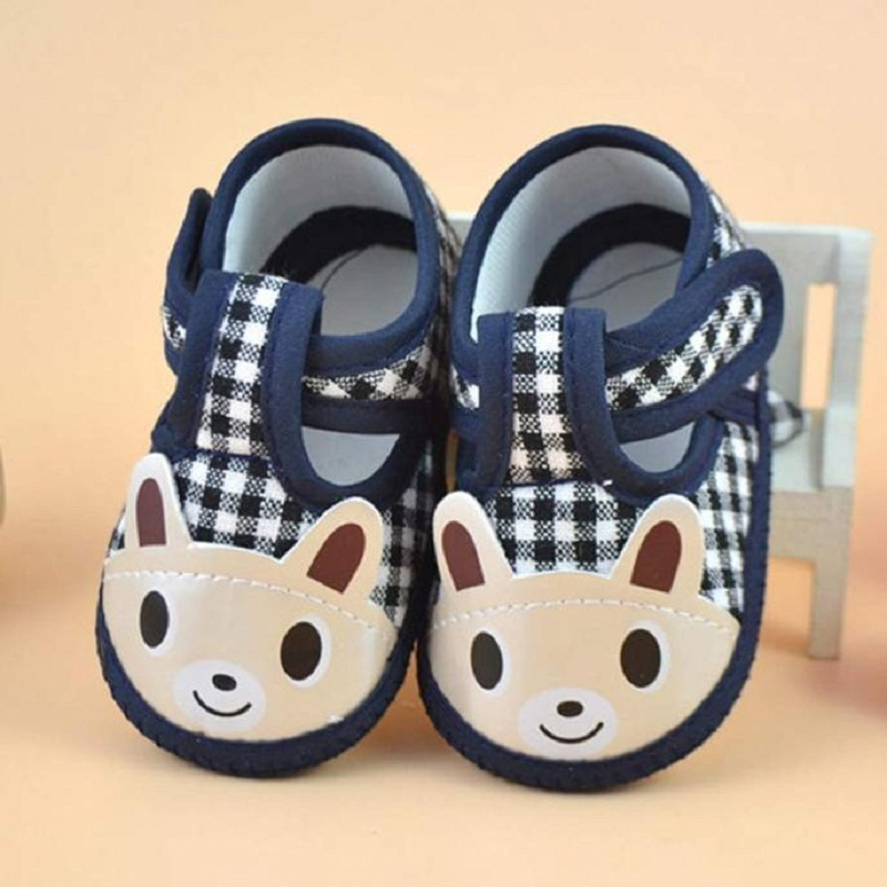 Toddler Cartoon Animal Floor Shoes Newborn Baby Girls Boys Soft Sole Crib Shoes Infant Boy Girl Fashion First Walker Cloth Shoes