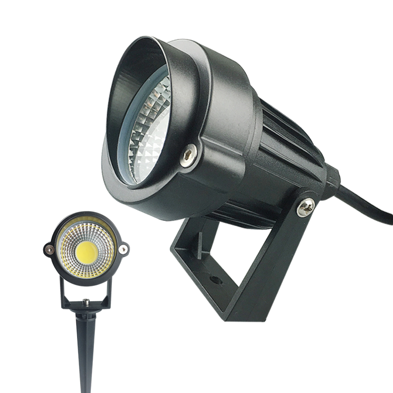 3W 5W LED COB bahçe çim lambası açık LED başak ışık su geçirmez aydınlatma LED ışık bahçe yolu spot AC110V 220V DC12V