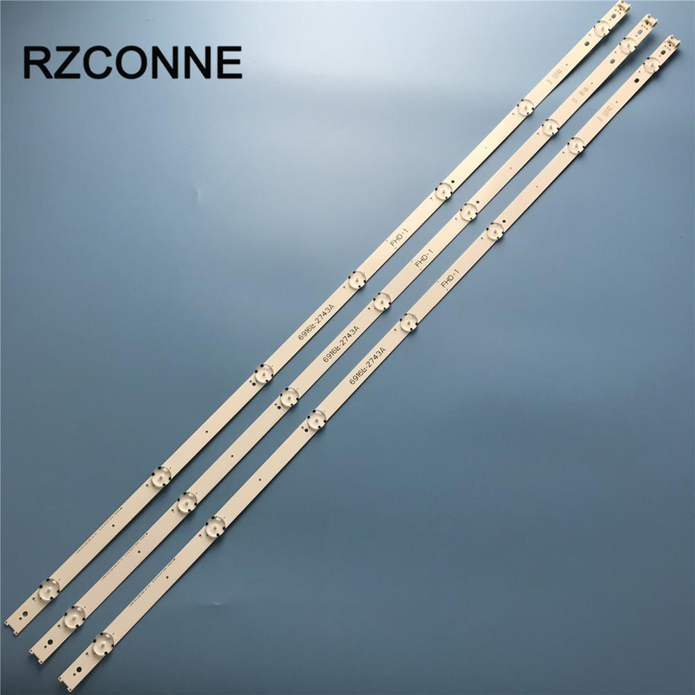 LED Backlight Strip 7 Lamp For LG 43