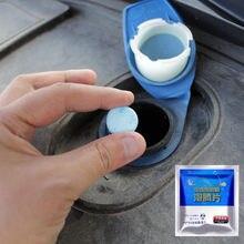 10 stücke Auto Windschutz Reinigung Auto Auto Windschutzscheibe Glas Waschen Reinigung Konzentriert Brause Tablet Windschutzscheibe Reiniger