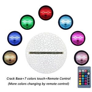 Image 5 - Kale gece sezon 9 yaz sürüklenme aksiyon modeli şekil dekor lamba savaş Royale yaz Drift 3d iillusion gece ışıkları oyuncaklar