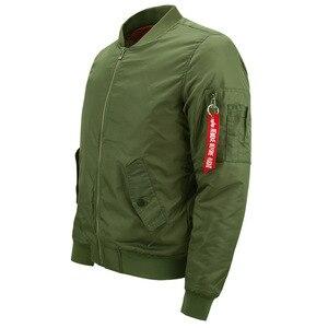 Image 5 - Mens Jacket Anime Dragon Ball Print Streetwear Coat Autumn Winter 2019 Thick Bomber Jackets Male Oversize S 8XL Military Jacket