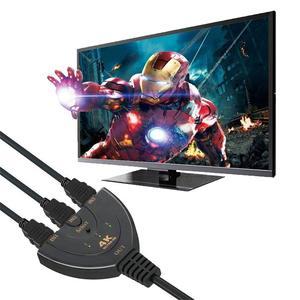 Image 3 - מתג HDMI 3 נמל 4K HDMI מתג 3 ב 1 מתוך עם גבוהה מהירות מתג ספליטר צם כבל תומך מלא HD 4K 1080P 3D נגן