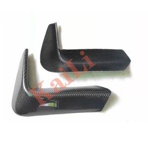 Image 3 - 1 ペア車のリアバンパーリップスプリッタディフューザー低コーナーカバートリム bmw F80 M3 F82 F83 M4 2015 2018 リアルカーボン
