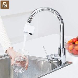 Image 3 - Youpin Zajia אינדוקציה מים שומר אינטליגנטי אינפרא אדום אינדוקציה מים ברז נגד הצפת מסתובב ראש מים חיסכון זרבובית ברז