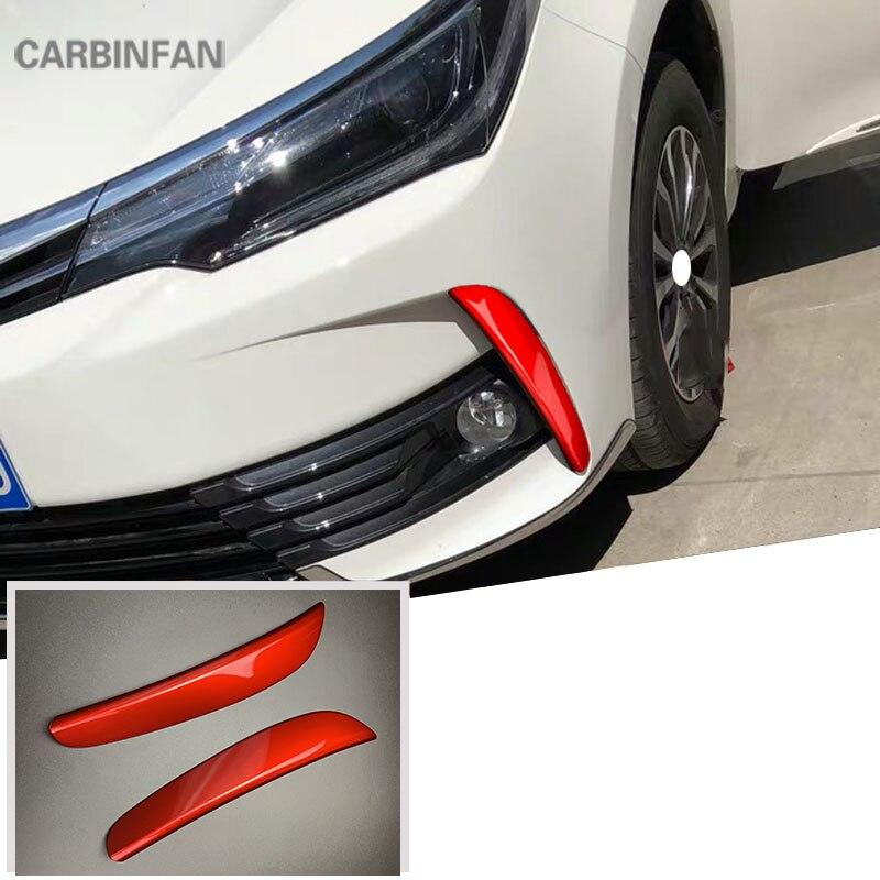 Front Fog Light Lamp Cover Trim Chromed 2PCS For Honda Fit//Jazz MK3 2014-2017