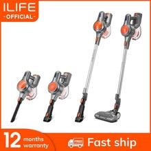 NOWOŚĆ ILIFE H70-bezprzewodowy odkurzacz pionowy, duża moc ssania, maks. podciśnienie: 21000Pa, aspirator, duży pojemnik na kurz: 1.2 L