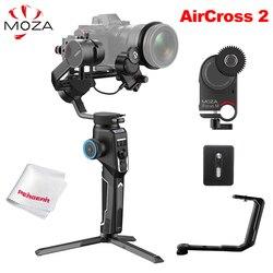 Moza AirCross 2 3-Axis Handheld Gimbal Stabilizer Kit for Sony A7 Canon 5D DSLR Mirrorless Camera vs Feiyu AK4500 DJI Ronin SC