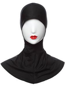 Image 4 - Ramadan Muslim Women Inner Cap Full Cover Islamic Under Scarf Hijab Hat Headwear Ninja Bonnet Amira Niquabs Solid Color Fashion