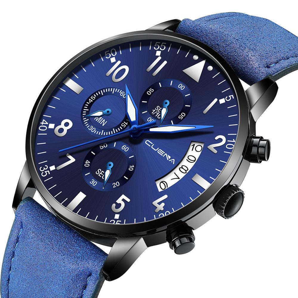 2019 Ultra Thin Watches Men Man Military Luxury Sports Wristwatch Analog Sport Leather Quartz Mens Watches Relogio Masculino