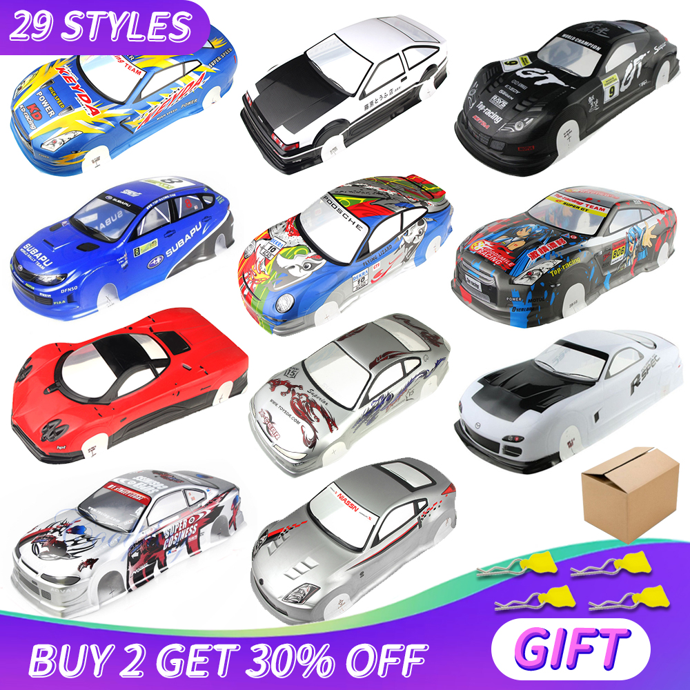 1/10 RC Car Shell Body Shell 190/195/200mm Width PVC RC Shell Use Hard Box For 1:10 RC Hobby Drift Touring Hsp Yokomo MST TAMIYA