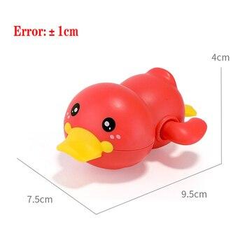 Mainan Clockword Swimming Duck Mengapung 5