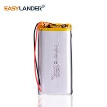 3,7 V 4000mAh 104080 полимерный литий-полимерный перезаряжаемый аккумулятор для colorfly c10 электронные книги power bank Tablet PC DVD on