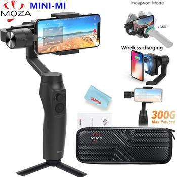 MOZA MINI MI 3-eje de Smartphone del cardán estabilizador para iPhone X 8 8 7 6S Samsung S9 S8 S7 del Zhiyun liso 4 Vimble 2
