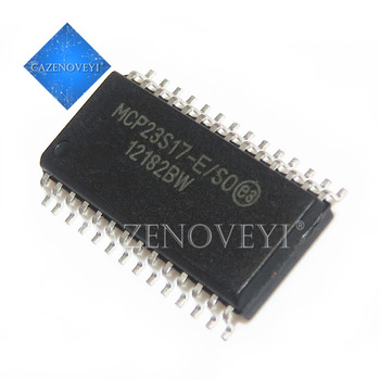 5pcs/lot MCP23S17-E/SO MCP23S17 SOP-28 In Stock 5pcs lot xl4016e1 xl4016 to 220 in stock
