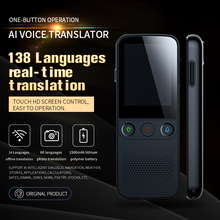 T10 Pro 138 Sprache instant stimme übersetzer gleichzeitige übersetzer Tragbare Offline übersetzer assistent ohne internet
