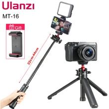 Ulanzi MT 16 להאריך Tablet חצובה עם קר נעל עבור מיקרופון LED וידאו למלא אור Smartphone SLR מצלמה חצובה
