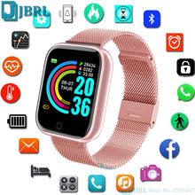 Montre-bracelet numérique carrée pour hommes et femmes, montre-bracelet de Sport électronique