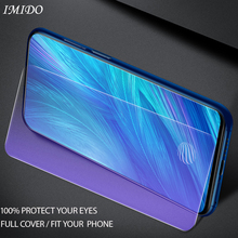 IMIDO Full Cover Anti Blue Tempered Glass For VIVO X27 Pro Anti-Blue Screen Protector for Protective Film