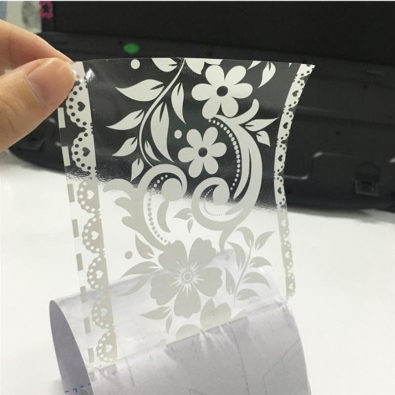 Lace Pattern Wallpaper Border Sticker Pretty Waist Line Wall Sticker Waterproof Self Adhesive PVC Wallpaper Border Home Decor
