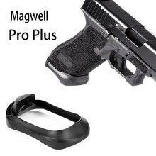 Glock PRO Plus de aluminio Magwell para Glock 17 31 34 35 37 Gen 1-4